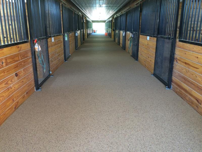 Tri-State Surfacing Horse Barn
